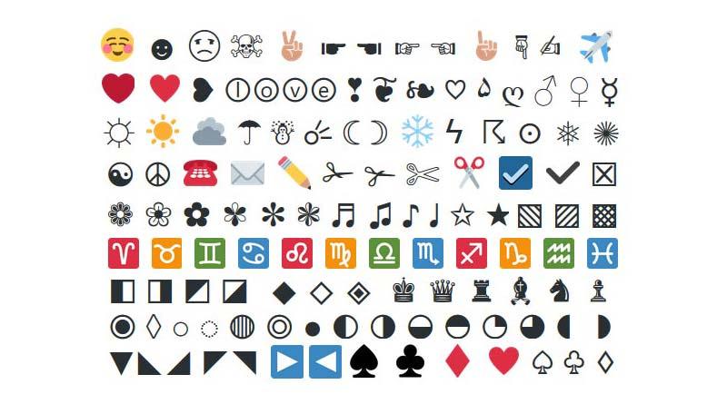 Smiley Emoji Symbole Egayez Votre Twitter Kiwiweb Blog Geek