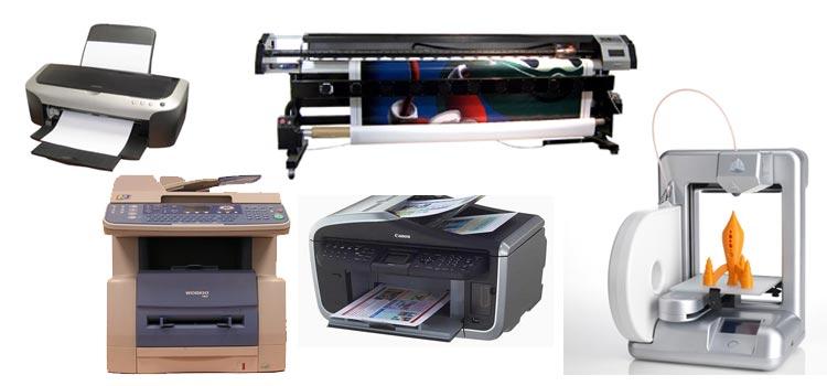 évolution imprimante