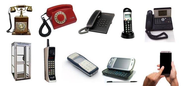 évolution téléphone smartphone