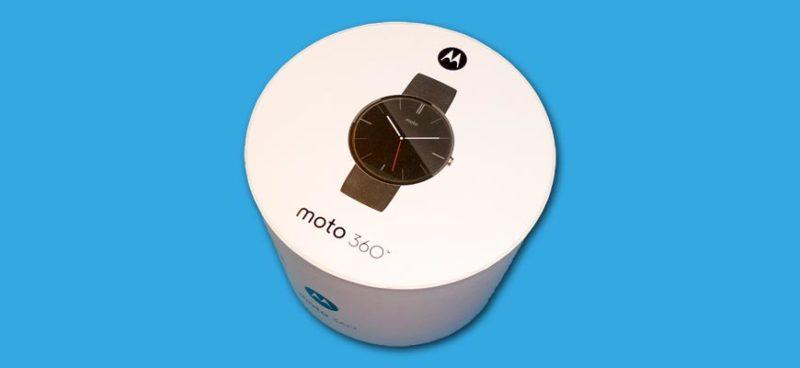 boîte Motorola Moto 360