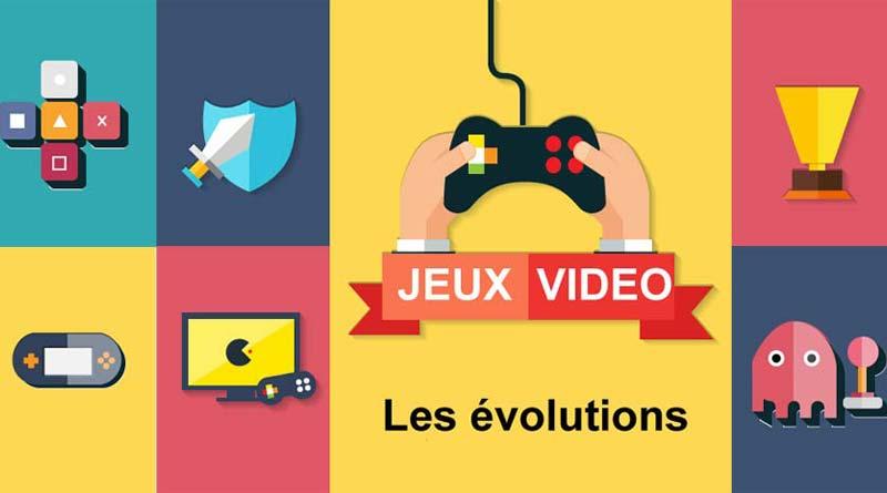 évolution jeux vidéo