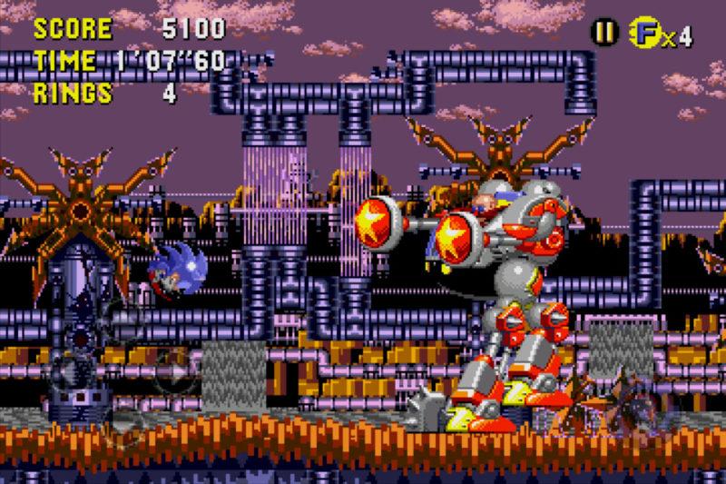 Sonic CD Boss